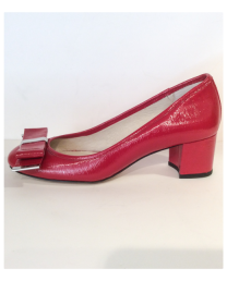 Michael Kors - KIERA-MID-PUMP-RED